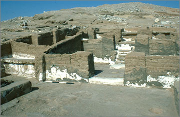 The Main Chapel, after excavation in 1984.